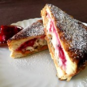 Thanksgiving Leftovers Monte Cristo Sandwich