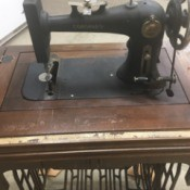 Manual for Coronado Treadle Sewing Machine
