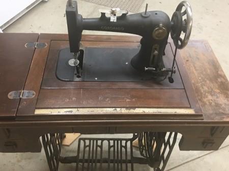 Manual for Coronado Treadle Sewing Machine