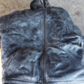 Removing Mold from Suede and Leather Coats - moldy leather coat