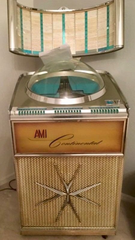 Value of an AMI Continental 1 Jukebox