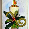 Candle of Light Christmas Card