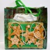 Vintage Star-Studded Christmas Gift Box