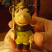Value of Mickey Mouse Figurine - old Mickey figurine, maybe Steamboat Willy timeframe