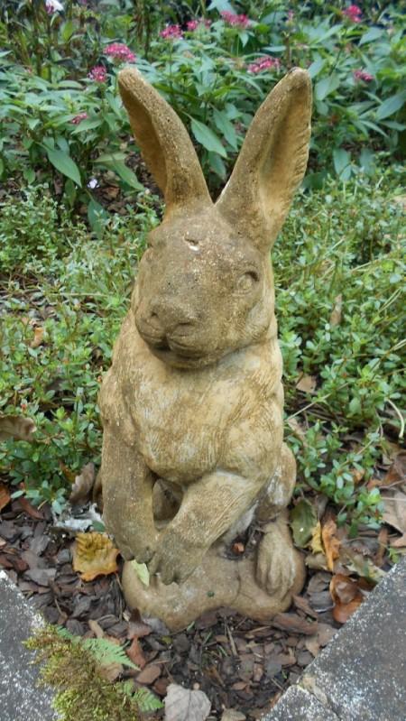Fall Colorfest (Gibbs Garden, GA) - bunny statue