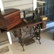 Age and Value of a New Domestic Treadle Machine S#725846 - treadle sewing machine