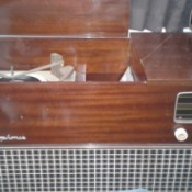 Value of Cabinet Style Record Player