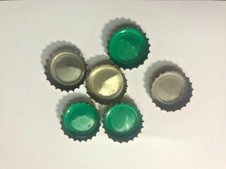 Bottle Cap Ornaments - bottle caps
