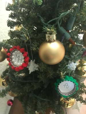 Bottle Cap Ornaments - other versions