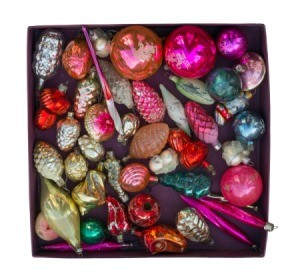 Stored Christmas Decorations