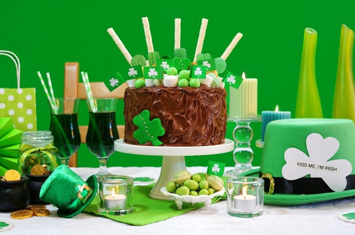 Fantastic Making A Shamrock Cake Thriftyfun Birthday Cards Printable Trancafe Filternl