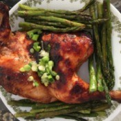 Baked Honey Glazed Paprika Chicken