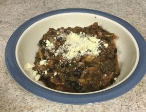 Bean and Potato Dish