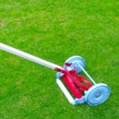 Value of a Granite State M.M Co Push Mower - reel mower