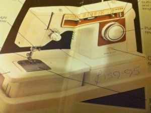 Repairing the Timing on a Singer Sewing Machine - image of the model in a manual
