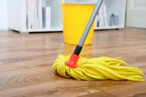 Mopping Laminate Floor