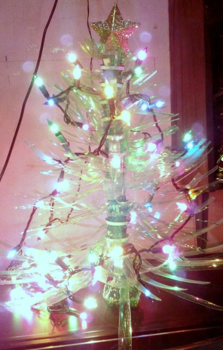 How To Make A Plastic Bottle Christmas Tree Thriftyfun