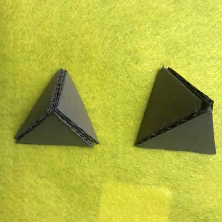 Christmas Triangle Candy Box Ornament  - each box requires 4 triangles