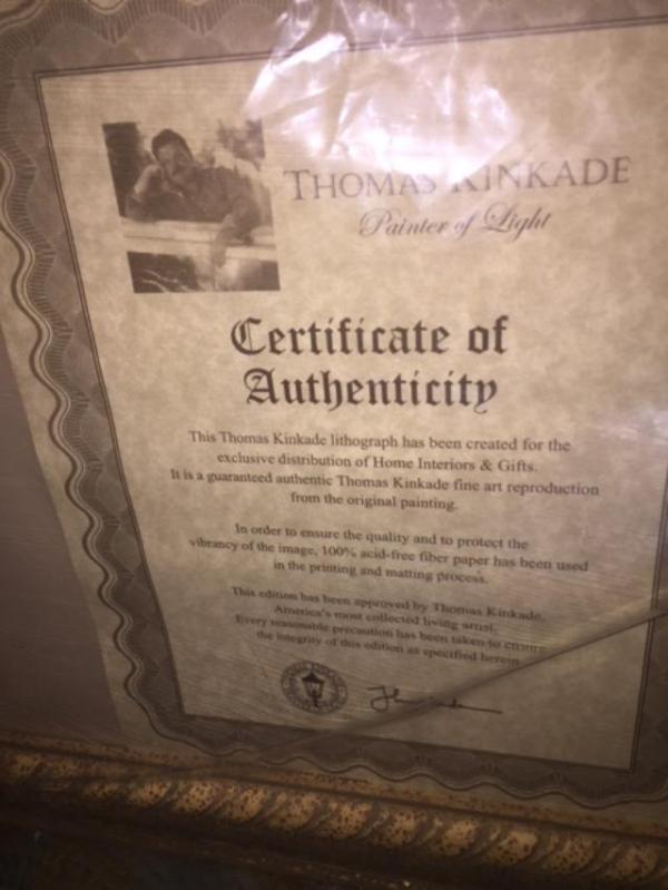 Finding The Value Of A Thomas Kinkade Print Thriftyfun