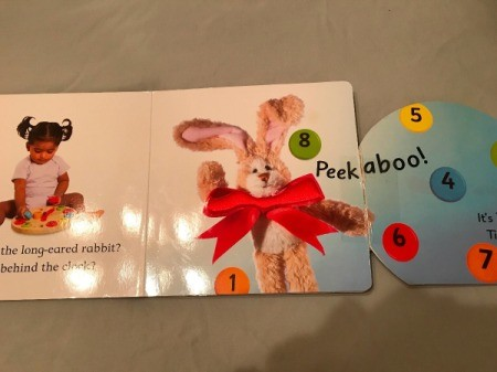 A picture book for a toddler that was ripped and then repaired.