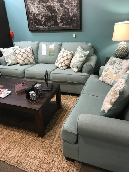 Wall Paint and Rug Color Advice - couch and chair