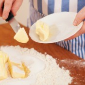 Butter Being Used in Baking