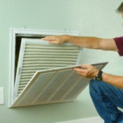 Changing Air Conditioner Filter