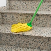 Mopping Stairs
