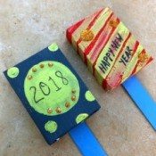 Snack Box New Year's Noisemakers - 2 noisemakers