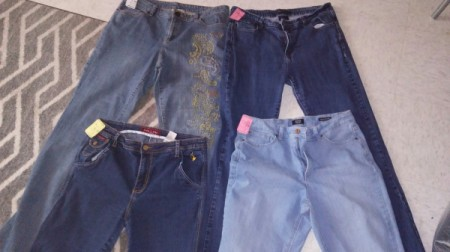 Buying Used Clothing - jeans