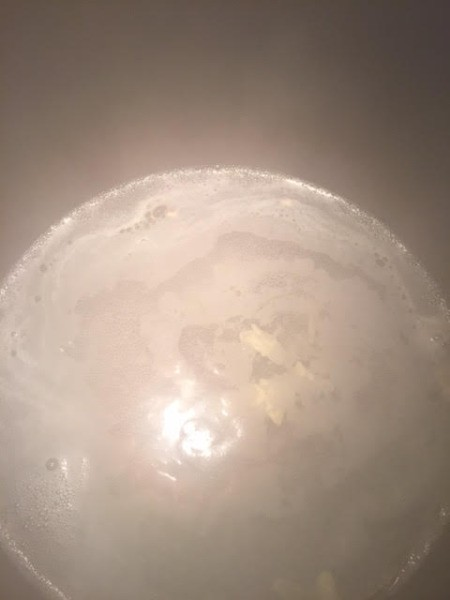 bringing water to a boil