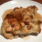 Almond Baked French Toast ready to eat