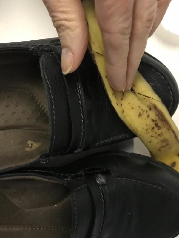 Banana peel as shoe polish | Coursework - September 2019