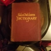 Value of a Salva-Webster's Dictionary - cover of Spanish English dictionary