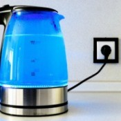 Electric Kettle Boiling Water