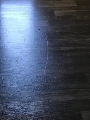 Removing a White Mark on Vinyl Floor