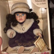 Identifying a Porcelain Doll doll in box