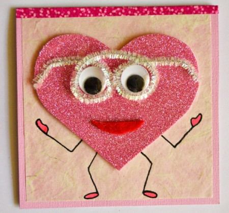 """""""Wide-Eyed Over You"""" Valentine Card"""