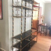 Value of Gold Gilt Etagere Bookcases