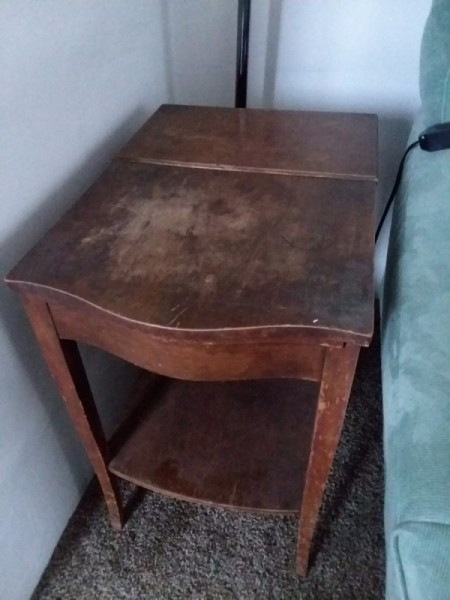 Value of a Mersman Table - end or bedside table