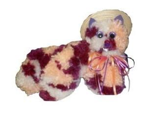 Coat Hanger Yarn Cat