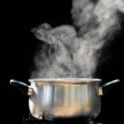 Steam Above Pot