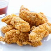 Chicken Strips and Dipping Sauce