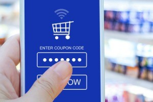 Entering Online Coupon Code