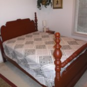 Value of a Vintage Wooden Bed Frame