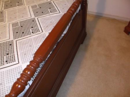 Value of a Vintage Wooden Bed Frame
