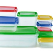 Colorful Plastic Food Storage Containers