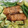 Honey Lime Salmon with vegetables