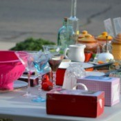 Garage Sale Table