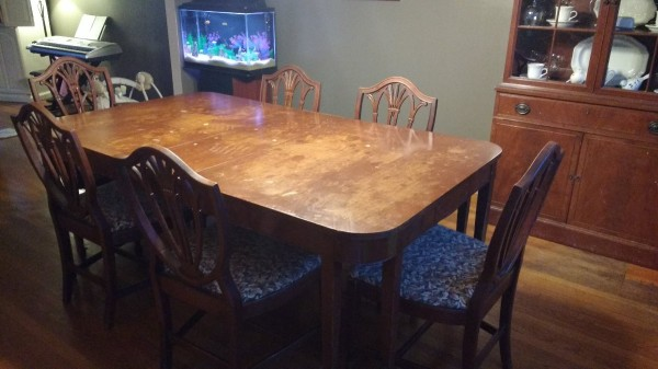 Value Of Finch Furniture Dining Set Table And Chairs